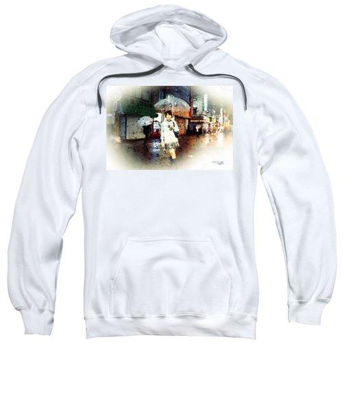 Rainy Tokyo Night Sweatshirt