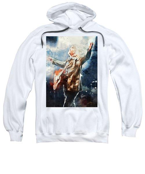 Tom Petty - Watercolor Portrait 13 Sweatshirt