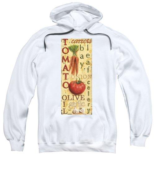 Tomato Soup Sweatshirt by Debbie DeWitt