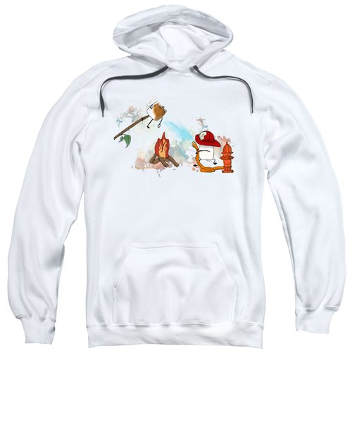 Too Toasted Illustrated Sweatshirt