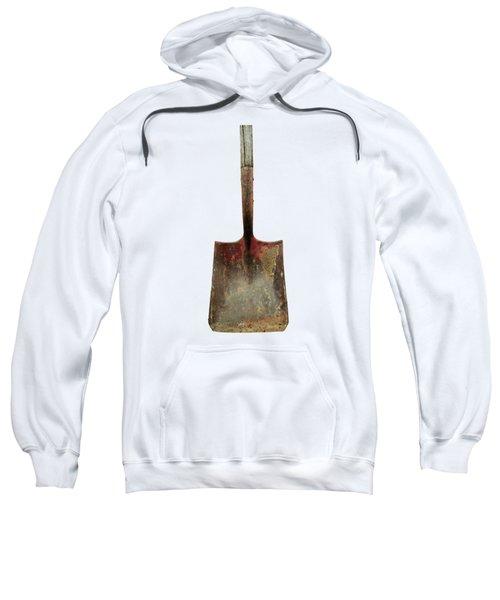 Tools On Wood 3 On Bw Plywood Sweatshirt