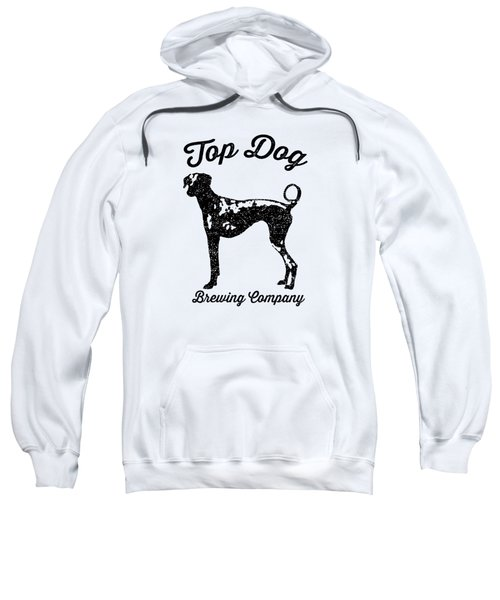 Top Dog Brewing Company Tee Sweatshirt by Edward Fielding