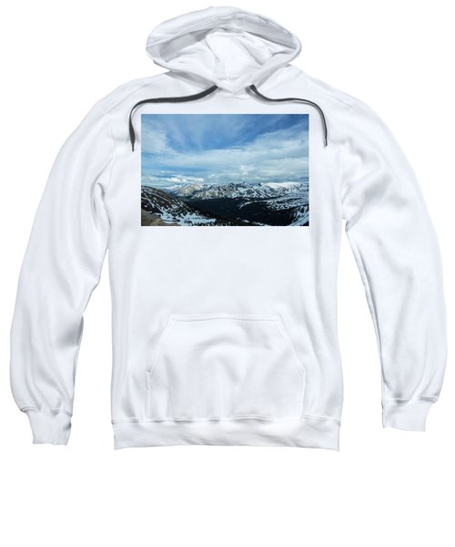 Top Of The Rockies Sweatshirt