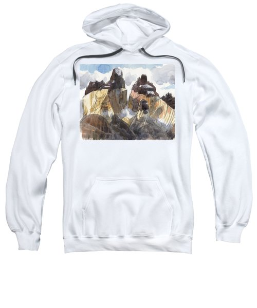 Torres Del Paine, Chile Sweatshirt
