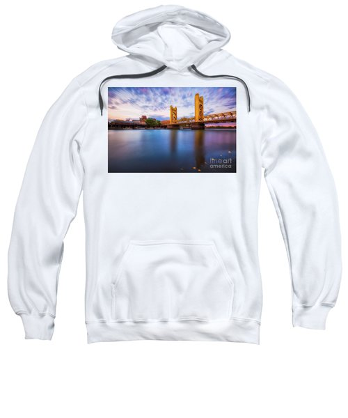 Tower Bridge Sacramento 3 Sweatshirt