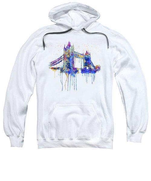 Tower Bridge Watercolor Sweatshirt