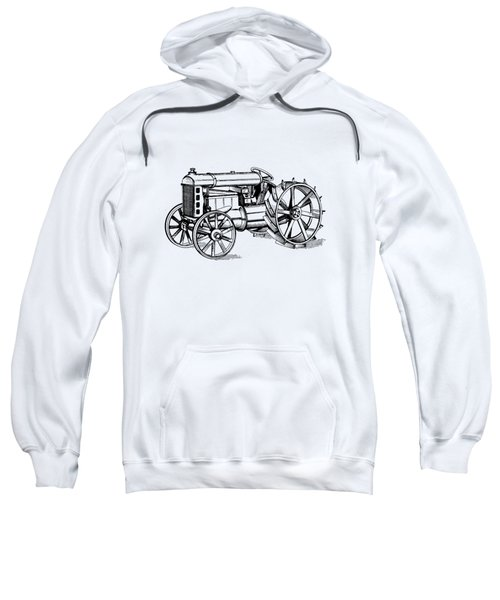 Sweatshirt featuring the photograph Tractor 1919 Henry Ford T-shirt by Edward Fielding
