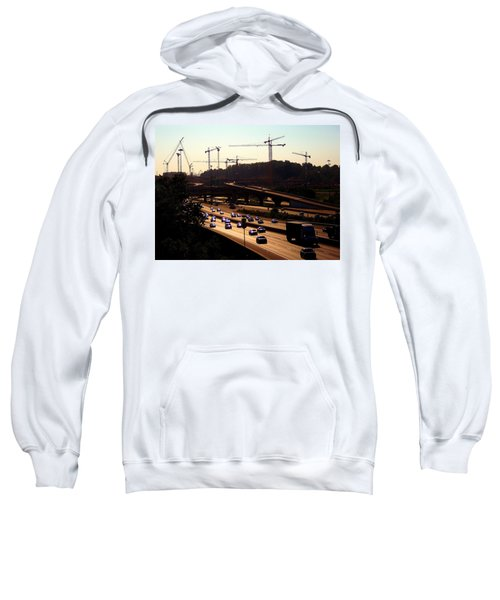 Traffic And Cranes Sweatshirt