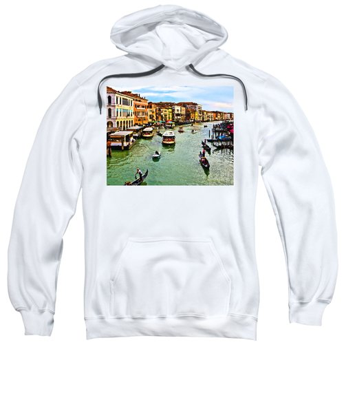 Traghetto, Vaporetto, Gondola  Sweatshirt