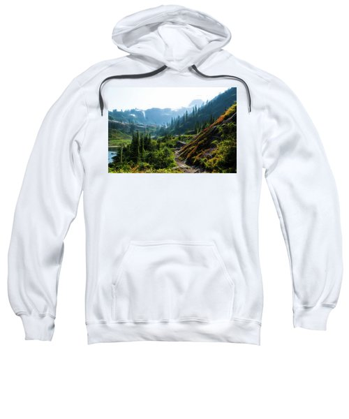Trail In Mountains Sweatshirt