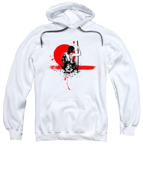 Trash Polka - Female Samurai Sweatshirt