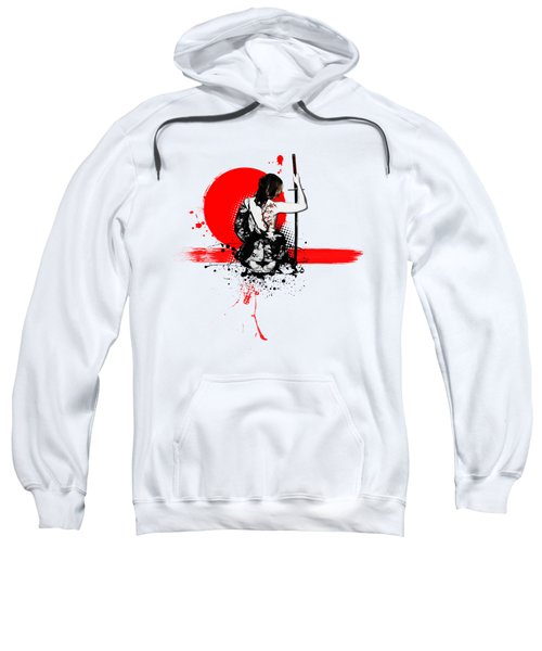Trash Polka - Female Samurai Sweatshirt