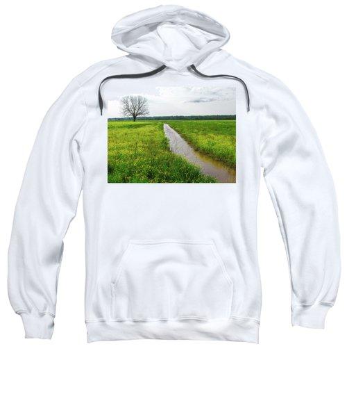 Tree In Field 2 Sweatshirt