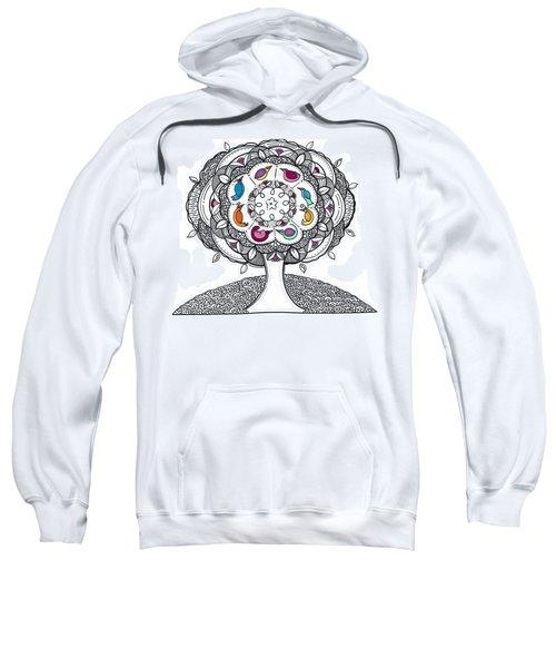 Tree Of Life - Ink Drawing Sweatshirt
