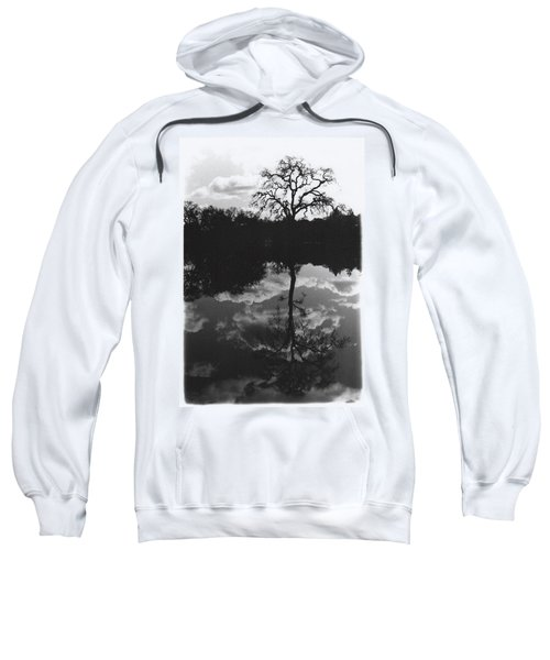 Tree Reflection Sebastopol Ca, Sweatshirt