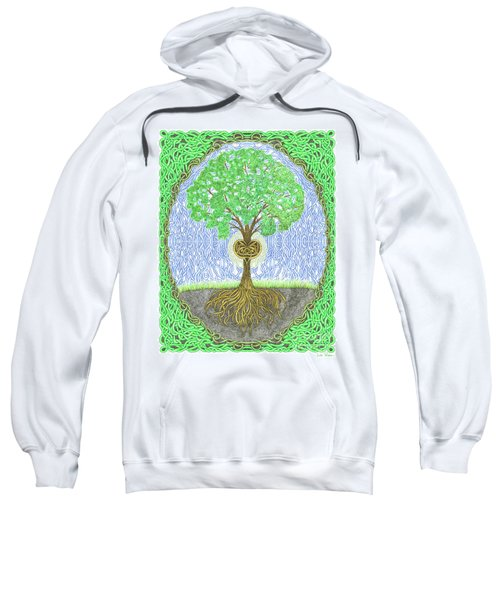 Tree With Heart And Sun Sweatshirt