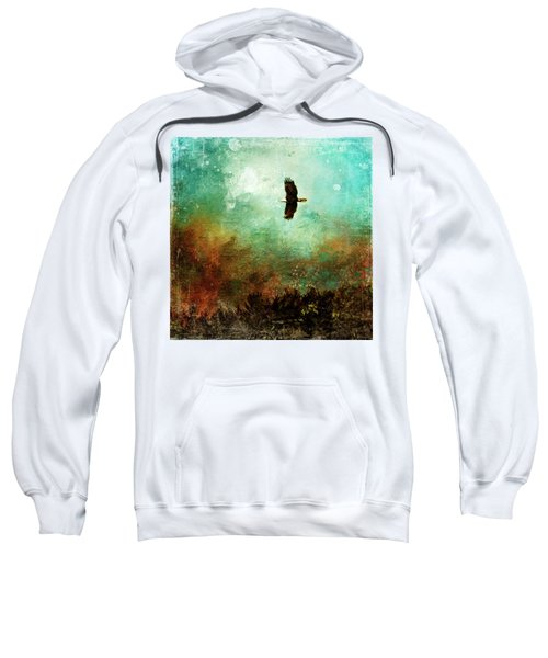 Treetop Eagle Flight Sweatshirt