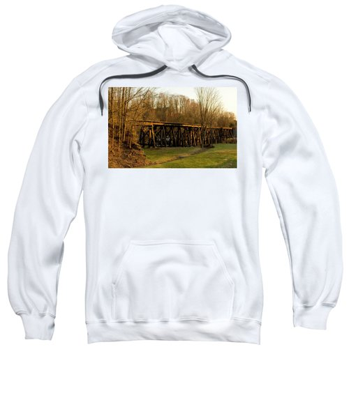 Tressel View Sunset  Sweatshirt