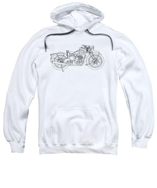 Triumph Laverda Sweatshirt by Stephen Brooks