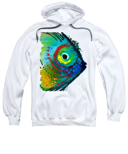 Tropical Fish - Art By Sharon Cummings Sweatshirt by Sharon Cummings