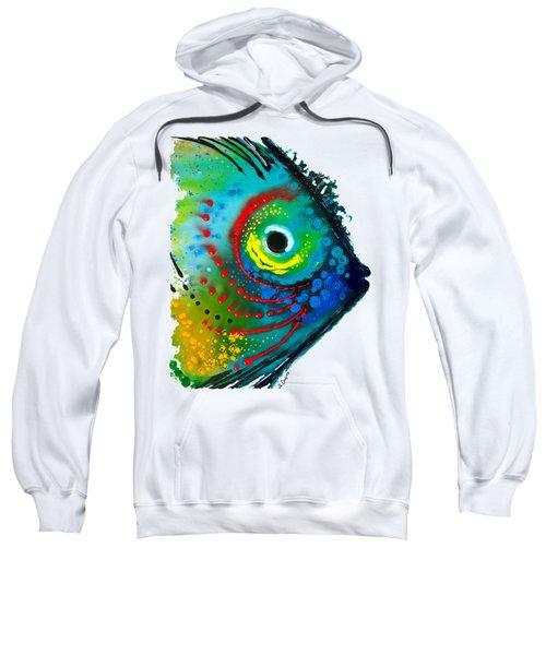 Tropical Fish - Art By Sharon Cummings Sweatshirt