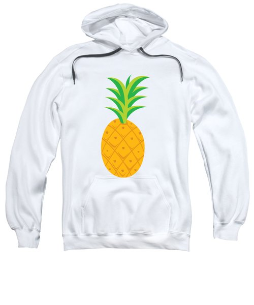Tropical Fruits Ananas Pineapple Sweatshirt by MGdezigns
