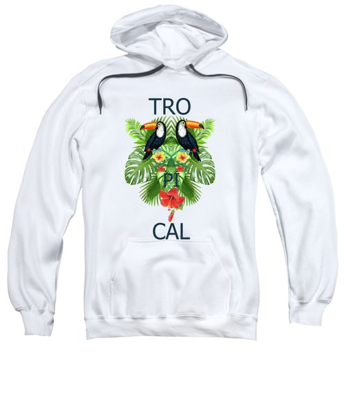 Tropical Summer  Sweatshirt by Mark Ashkenazi