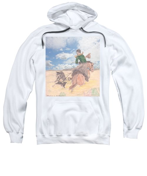 Trouble In Bunches Classic Sweatshirt