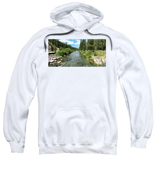 Truckee River Toward Tahoe City Sweatshirt