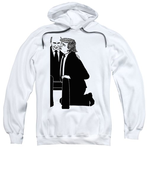 Trump On Knees Sweatshirt