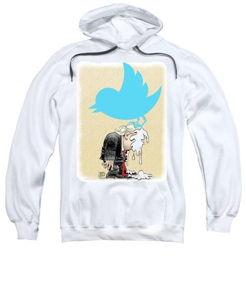 Trump Twitter Poop Sweatshirt