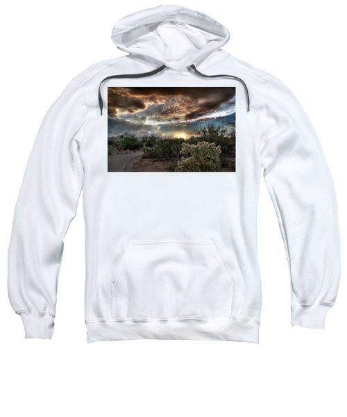 Tucson Mountain Sunset Sweatshirt