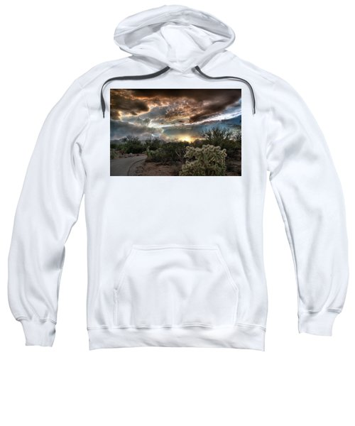 Tucson Mountain Sunset Sweatshirt