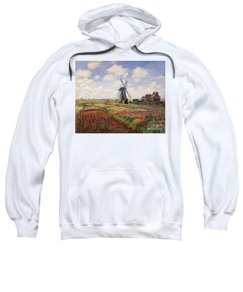 Tulip Fields With The Rijnsburg Windmill Sweatshirt