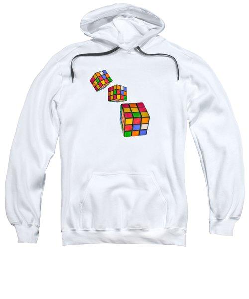Tumbling Cubes Sweatshirt