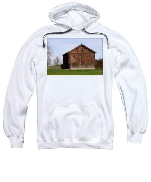 Turkey Vultures Hovering Around The Barn Sweatshirt