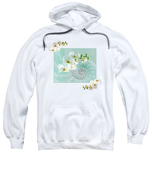 Turquoise Fusion Sweatshirt by Gill Billington