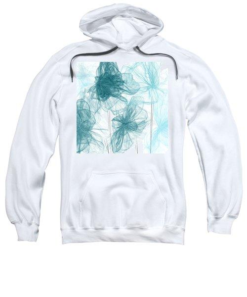 Turquoise In Sync Sweatshirt