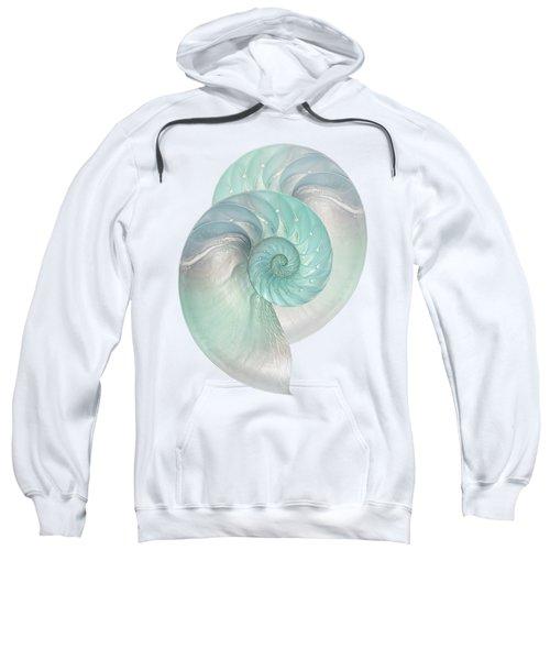 Turquoise Nautilus Pair Sweatshirt