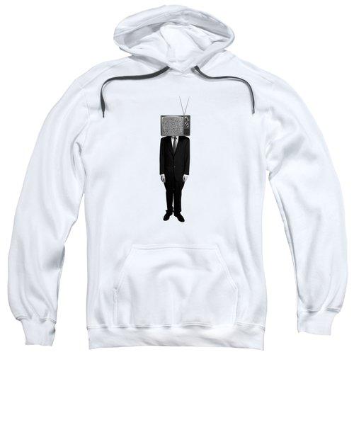 Tv Head Sweatshirt by Diane Diederich