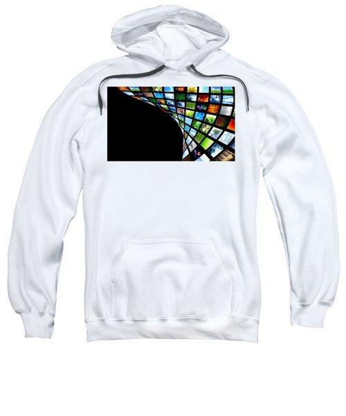 Tv Warp Wall Sweatshirt