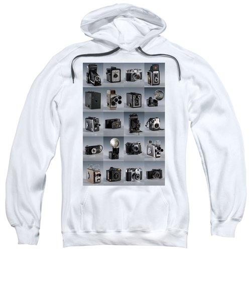 Twenty Old Cameras - Color Sweatshirt