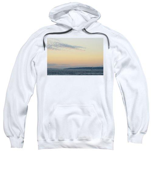 Twilight Moment In Puget Sound Sweatshirt
