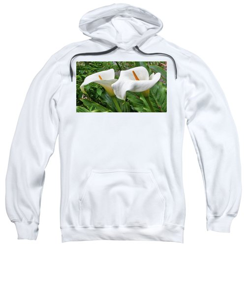 Twin Calla Lilies Sweatshirt