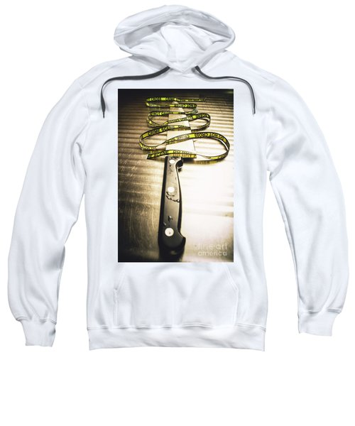 Twists And Turns Of A Serial Killer Sweatshirt