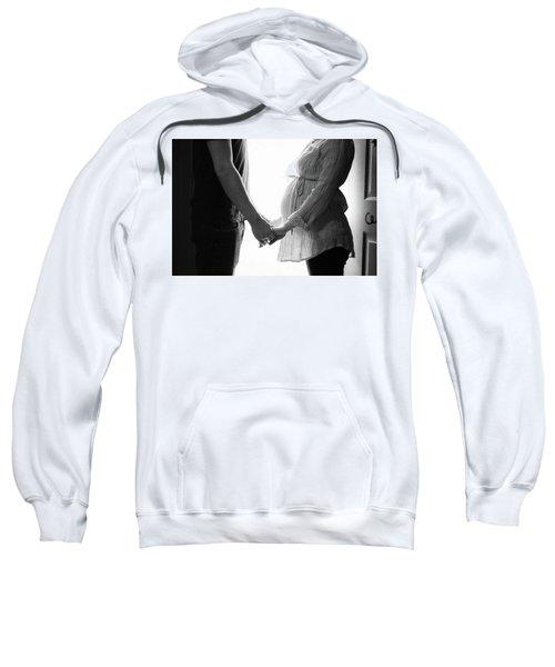 Two Becomes Three Sweatshirt