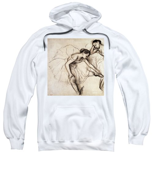 Two Dancers Resting Sweatshirt