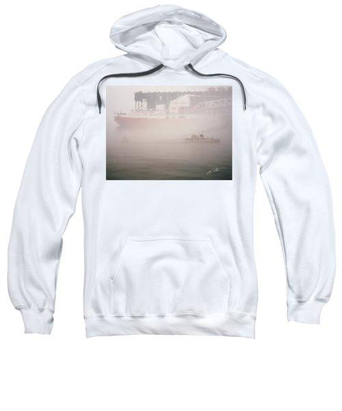 Two Harbors Fog Ship II Sweatshirt