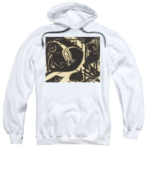 Two Mythical Animals Sweatshirt