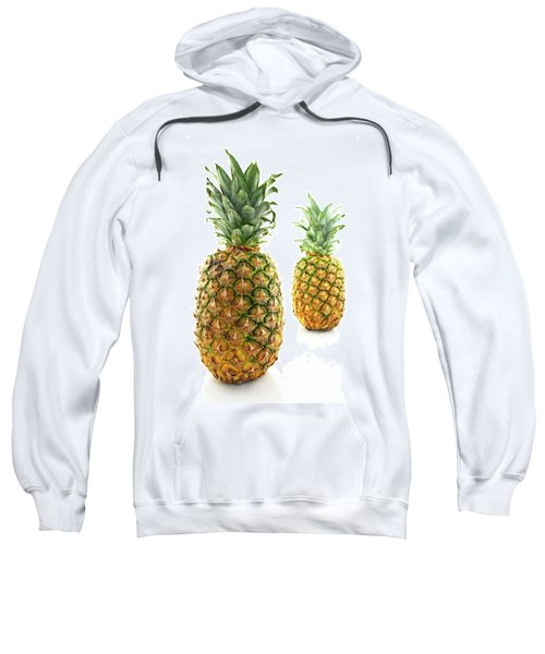 Two Ripe Pineapples, Focus On The Closest One Sweatshirt